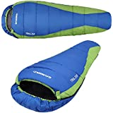 Mummy Sleeping Bag Outdoor Camping Hiking Warmly Sleep System With Carrying Bag