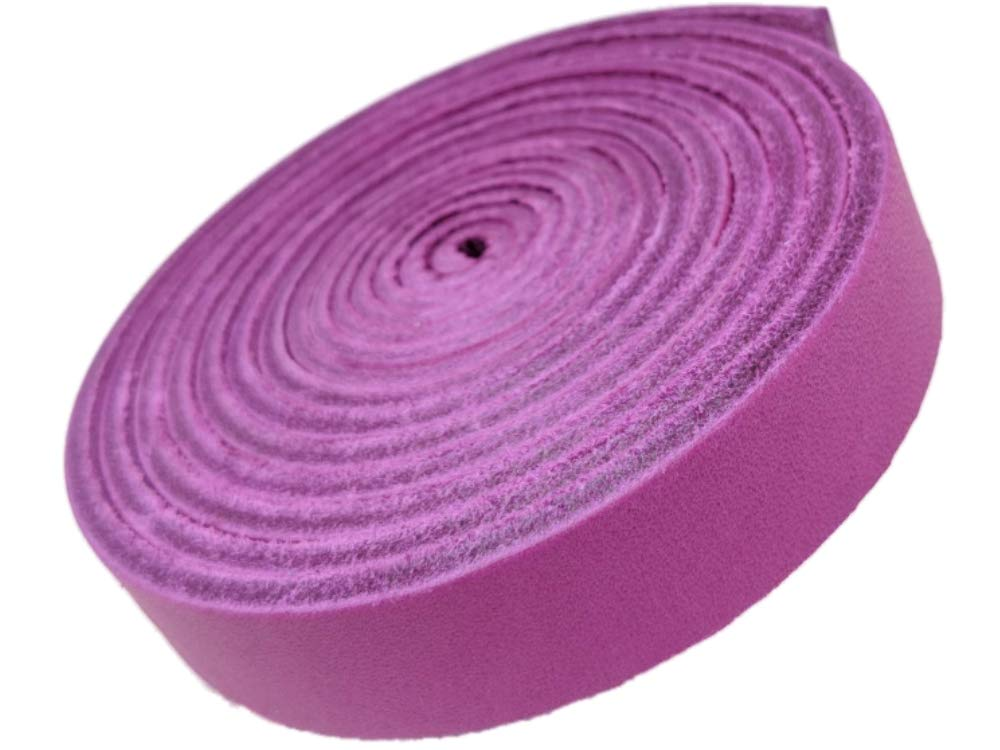 (Magenta) - Leather Straps by TOFL Strips for Crafts Designed for Performance 1.6cm Wide 0.3cm Thick and 180cm Long (Magenta) B07MG7SJ7D