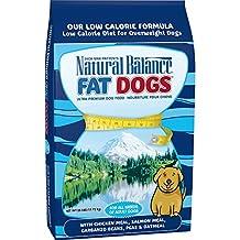 Dick Van Patten's Natural Balance 42009 Fat Dogs Chick/Salmon/Low Calorie, Large, Blue