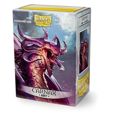 Dragon Shield Limited Edition Art Sleeves - Carnax (100-Pack) Standard Size by Arcane Tinmen