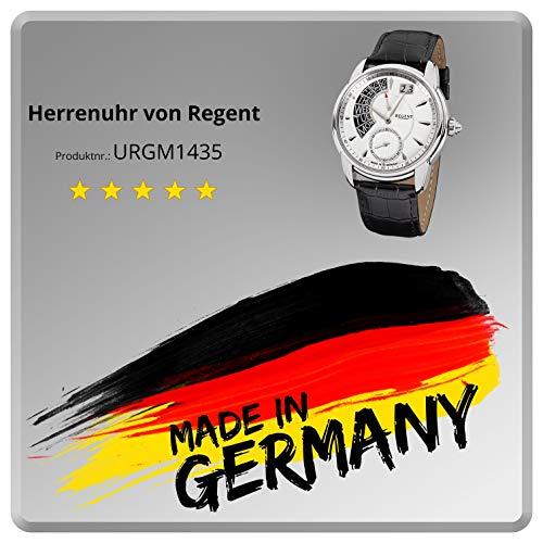 Regent herrklocka rostfritt stål Tyskland kollektion GM1435