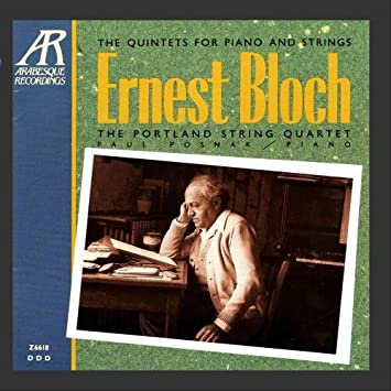 Bloch: Piano Quintet Nos. 1, 2
