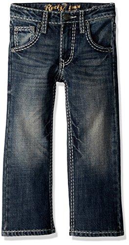 Wrangler Little Boys' Rock 47 Slim Boot Jean, Conga, 6 SLM