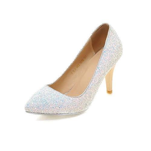 Vestido Princesa Bodamujer Blanco Moda Zapatos Cristal La De pFdw0d