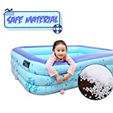 Dressbar 67inX53inX19in Inflatable Pool Inflated