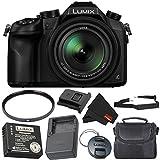Panasonic Lumix DMC-FZ1000 Digital Camera 4K Point and Shoot Camera, 16X Leica DC Vario-Elmarit Zoom Lens Bronze Level Bundle
