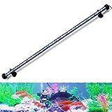 GreenSun LED Lighting 78cm 9.8W LED Aquarium Light, Submersible Fish Tank Light, White and Blue Color, Underwater Aquarium Lighting for Fish Tank