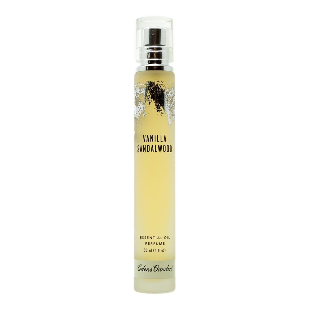 Edens Garden Vanilla Sandalwood Natural Essential Oil Perfume (Earthy & Sweet Aroma), 1 oz