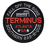Terminus Southern Barbecue Walking Dead Parody 4in Diameter Patch Zombie