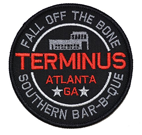 Terminus Southern Barbecue Walking Dead Parody 4in Diameter