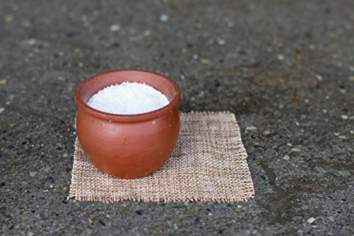 Natural Terra Cotta Bowl,Salt Box,Salt Keeper,Kitchen Decor, With a glazed interior and uniqie exterior ()