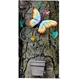 Multicoloured Butterfly Wall Planter