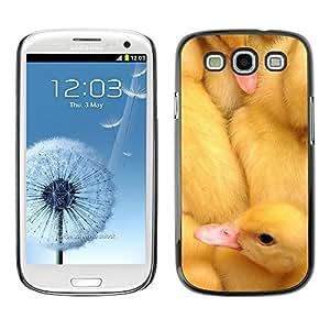diy phone caseYOYO Slim PC / Aluminium Case Cover Armor Shell Portection //Cute Baby Chicks Ducks //Samsung Galaxy S3diy phone case