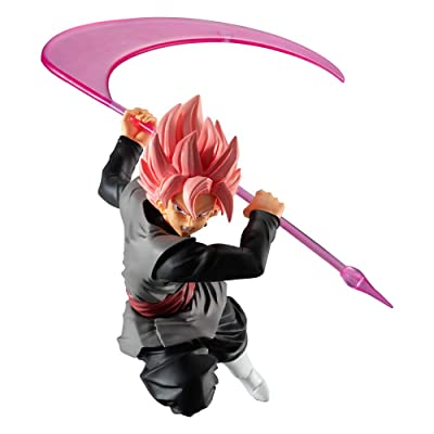 Bandai Shokugan Styling Goku Black Rose Dragonball: Super: Toys & Games