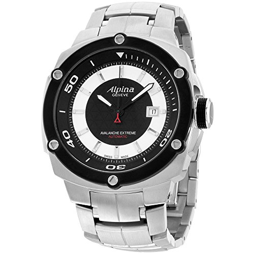 Alpina Extreme Avalanche Two Tone Dial Stainless Steel Men's Watch ()