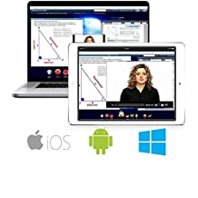 SAT/ACT PowerPrep Pro: Semester-Length, Video & Multimedia Based Interactive Online Course & Software for PC, Apple, iOS, Android (v 2016-17)