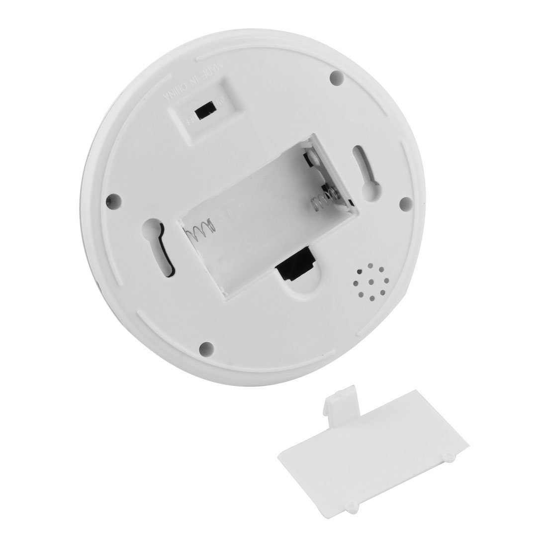 Amazon.com: eDealMax plástica de la bóveda en Forma de batería Powered Mirada realista de la cámara de vigilancia de seguridad falso: Electronics