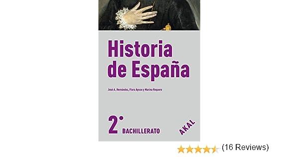Historia de España 2º Bachillerato Enseñanza bachillerato ...
