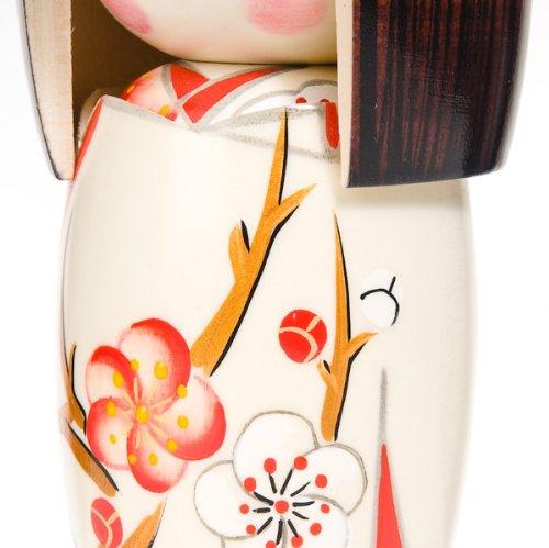 Spring Dream madera Mu/ñeca tradicional japonesa Kokeshi