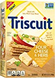 Triscuit Four Cheese and Herb Crackers, 8.5 oz