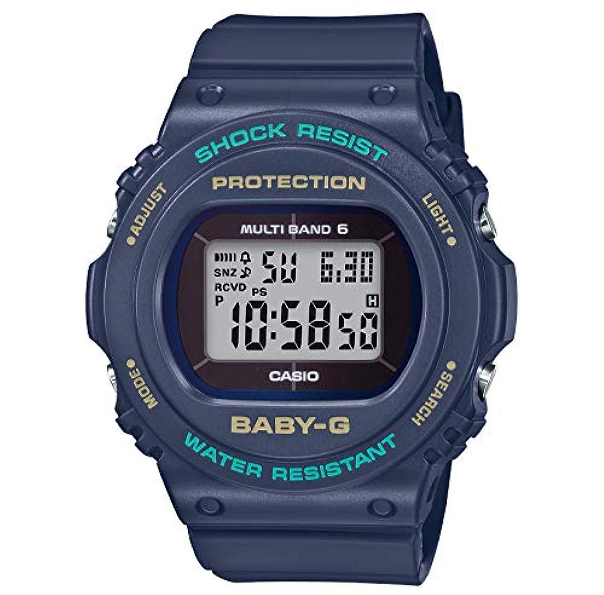 [해외] [카시오] 손목시계 BABY-G 전파 솔라 BGD-5700-2JF 레이디스