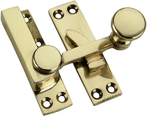 Bulk Hardware BH01902 Sash Fastener Arm Type Solid Brass