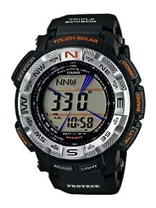 Casio PRG-260-1E - Reloj (Reloj de pulsera, Masculino, Polímero, Negro, Polímero, Negro)