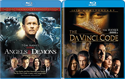 Tom Hanks The Da Vinci Code [10th Anniversary Edition] [Blu-ray] & Angels & Demons Double Feature movie set