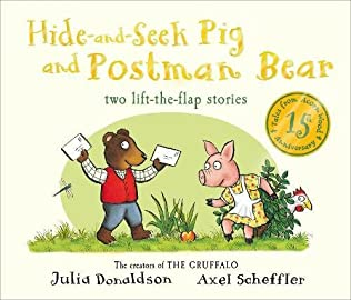book cover of Hide-and-Seek Pig and Postman Bear