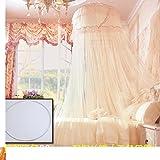 Court Princess Dome,Fashion Mosquito Net/European-style Fine Mosquito Net/Sub-ceiling Leisure Mosquito Net-B E