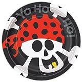 Pirate Party Dessert Plates, 8ct