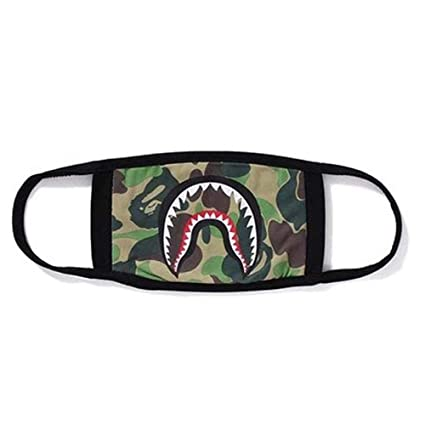 db9b6bca5892 Image Unavailable. Image not available for. Color  Shark Face Mask ...