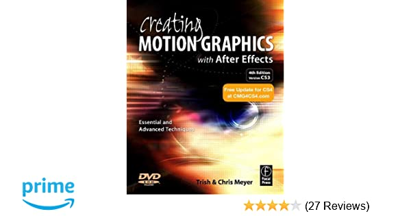 Amazon com: Creating Motion Graphics with After Effects
