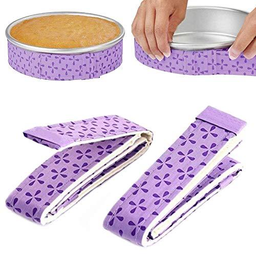 Cake Strips Cake Pan Strips Bakken Even Strip Bakken Zelfs Cake Strips Bakken Even Strip Set voor Even Bakken 2-delig