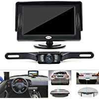 Backup Camera and Monitor Kit for Car