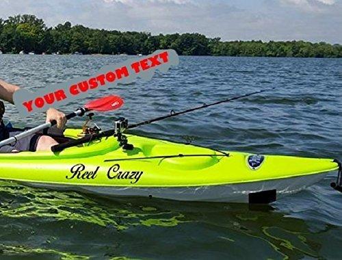 Kayak canoe jet ski boat custom name vinyl decal sticker