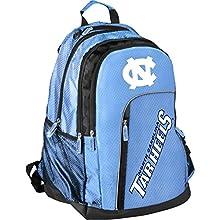 Forever Collectibles NCAA Elite Backpack, North Carolina Tar Heels