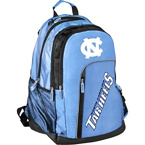 - Forever Collectibles NCAA Elite Backpack, North Carolina Tar Heels