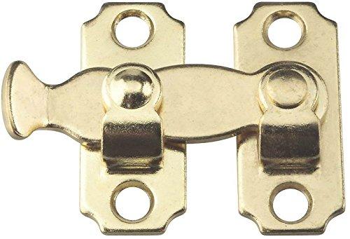 Stanley Hardware S763-750 CD450 Bar Latch in Brass, (Brass Bar Latch)