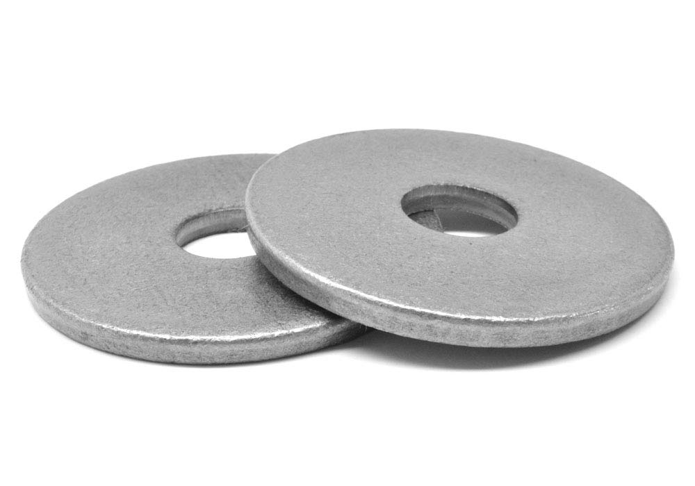 5//8 x 2 1//2 x 1//4 Round Plate Washer Low Carbon Steel Plain Finish Pk 10
