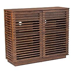 Zuo Linea Cabinet, Walnut