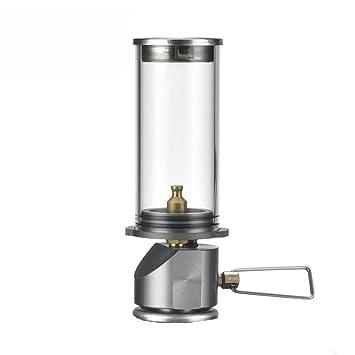 BRS de 55 con encantadores Vela Bombilla Lámpara de luz portátil Camping Gas iluminación de Camping