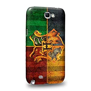 Case88 Premium Designs Harry Porter Hogwarts School of Witchcraft and Wizardry Sign 0918 Protective Snap-on Hard Back Case Cover for Samsung Galaxy Note 2