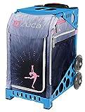 ZUCA Bag Ice Dreamz LUX Insert & Blue Frame w/ Flashing Wheels
