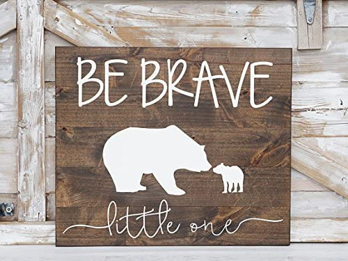 A BABY MAKES HOME HAPPIER new baby shower gift NURSERY SIGN rustic PLAQUE