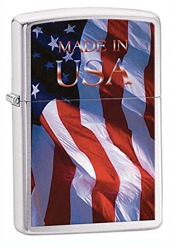Zippo Pipe Lighter: American Flag