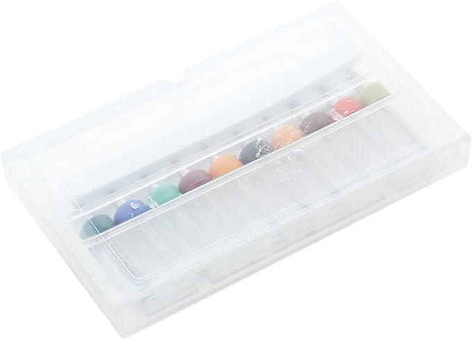 TOOGOO Caja de 10 x 0,3-1,2 mm Taladros de circuitos impresos Fresa de PCB Brocas pequenas de perforacion R