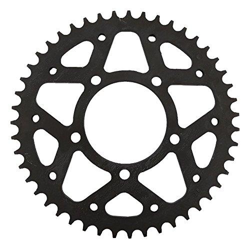 Supersprox RFE-829-47-BLK Rear Steel Sprocket Black For Suzuki 750 GSX-R 86 87 88 89 90 91 92 93 94 95 96 97 98 99 00 01 02 03 04 05 06 07 08 09 11 12 13 14 15 16, 1000 GSX-S 16, 750 GSX-S 16