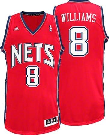 super popular e8459 2571b Amazon.com : NBA Men's New Jersey Nets Deron Williams ...