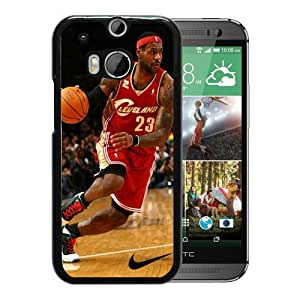 WANY Beautiful Classic Cleveland Cavaliers Lebron James 9 Black HTC ONE M8 Case